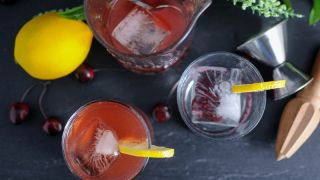 The Superlative Juvenile - Pomegranate Cocktail