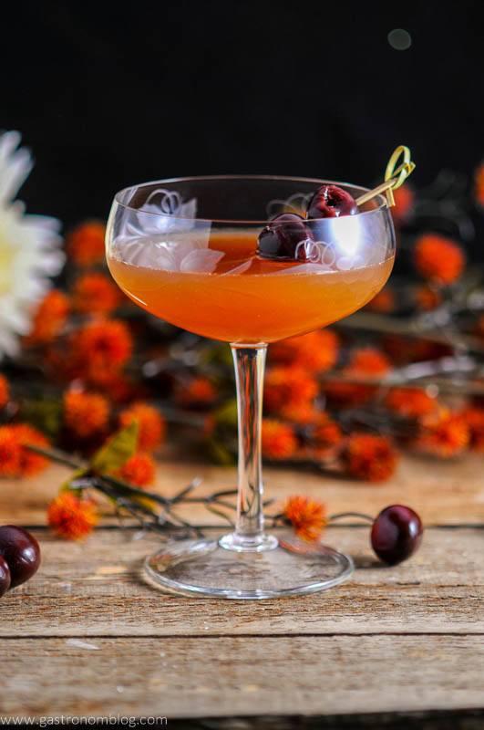 Apple Cider Manhattan - A whiskey Cocktail