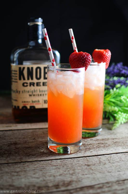 The Bourbon Sweetheart - a bourbon cocktail