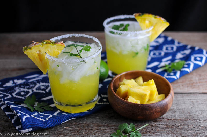 Pineapple Cilantro Margarita