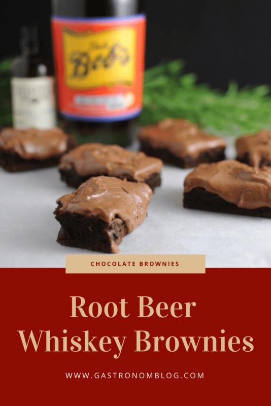 Root Beer Whiskey Brownies