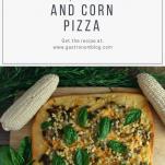 Pesto, Sausage and Corn Pizza