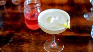 Rhubarb Sour - A Gin Cocktail