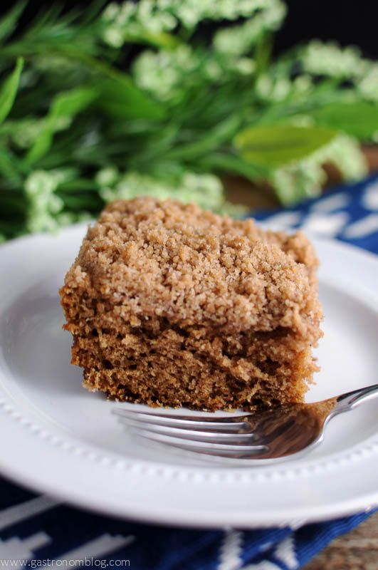 Streusel Topped Coffee Cake