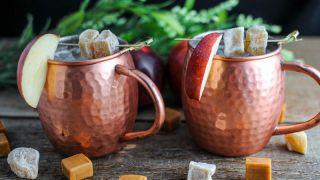 Caramel Apple Mule - A Vodka Cocktail
