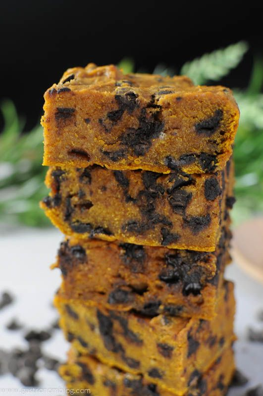 Pumpkin Chocolate Chip Bar