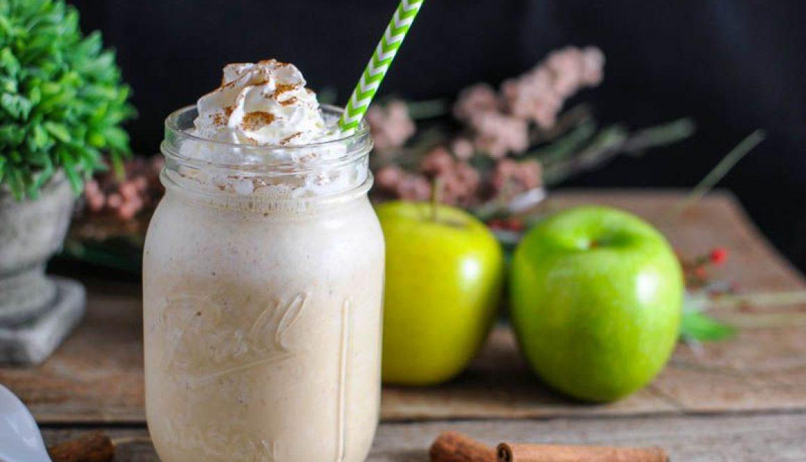 Drunken Apple Pie Milkshake