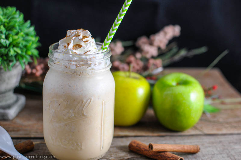 Drunken Apple Pie Milkshake