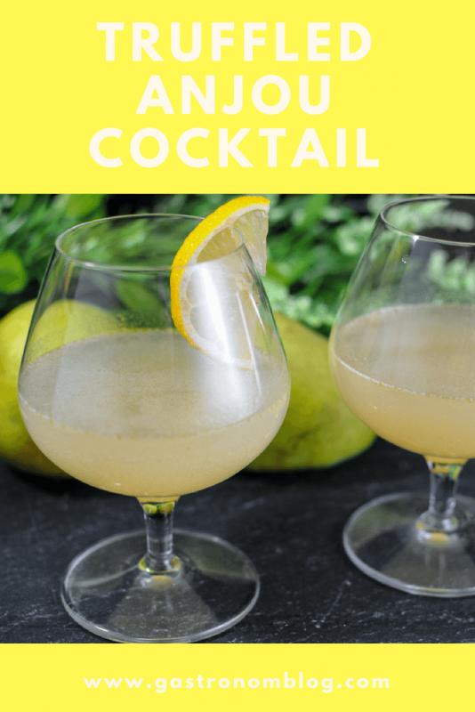 Truffled Anjou Cocktail - vodka, truffle oil, pear nectar