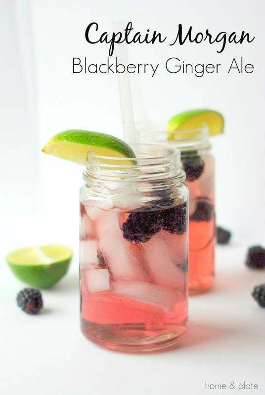 Captain Morgan Blackberry Ginger Ale