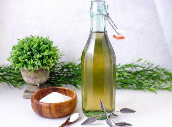 Sage Simple Syrup