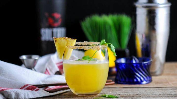 The Pina de Fuego - A Tequila Cocktail