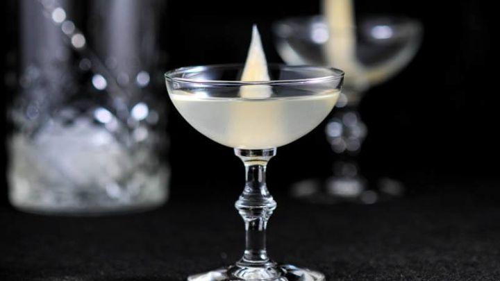 Pickled Ginger, Sake and fresh lime juice make this refreshing sweet tart cocktail