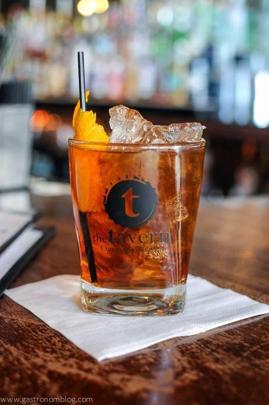 The Chocolate Rye cocktail - The Tavern Omaha