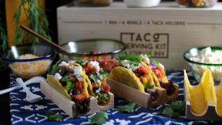Sweet Potato, Black Bean and Corn Veggie Tacos