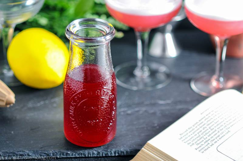 Rich Raspberry Simple Syrup