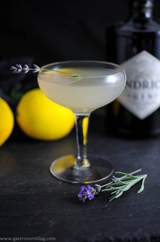 Lavender Bee's Knees - A Gin and Honey Cocktail | Gastronom