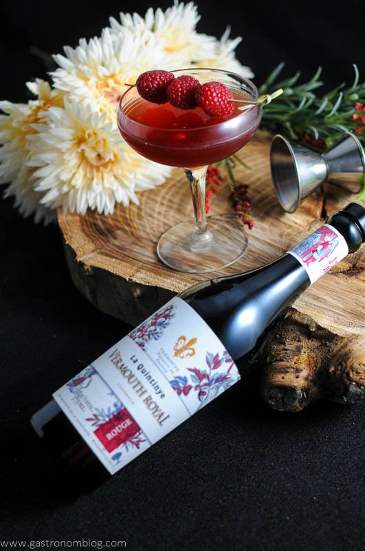 The Royal Raspberry – A Raspberry Manhattan Cocktail