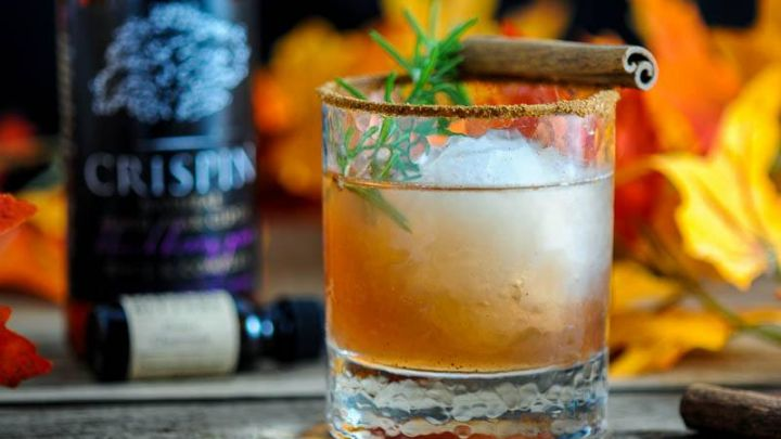 The Autumn Pear - A Bourbon Cocktail