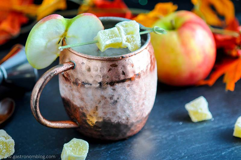 The Maple and Cider Kentucky Mule - A Bourbon Cocktail