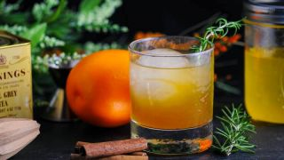 The Earl of Orange - A Bourbon Cocktail