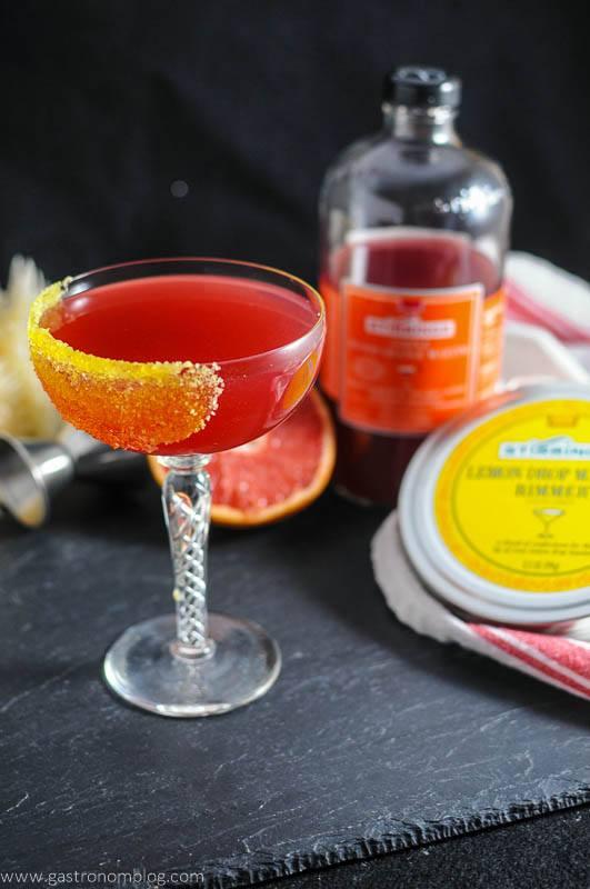 The Tre Agrumi - A Vodka Cocktail