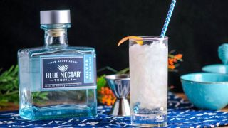 Where the Sea Meets the Sky - A Tequila Cocktail