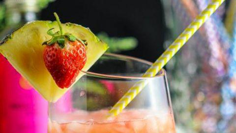 The Nene Bird - A Rum and Campari Tiki Cocktail