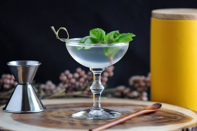 The Spring is Here - A Gin and Snap Pea Cocktail