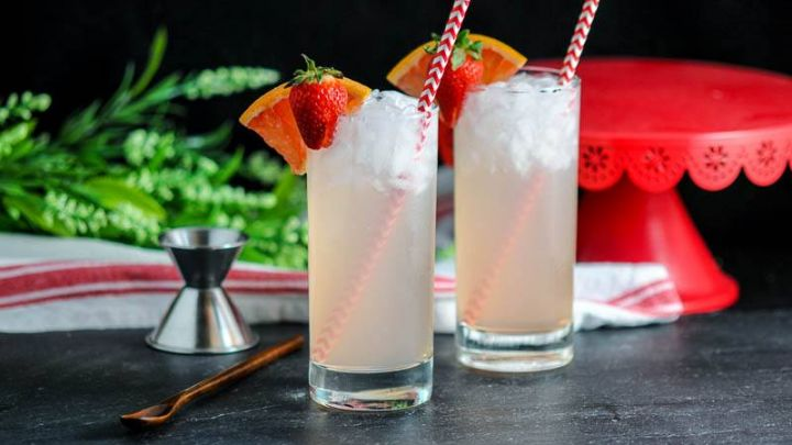 The Strawberry Paloma - A Tequila Cocktail