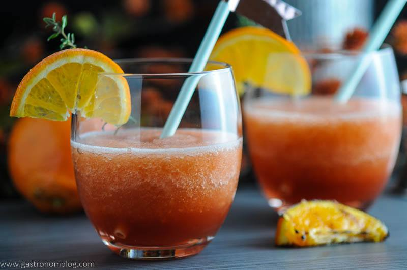 Tangerine Frozen Negroni - Negroni Week Campari Cocktail
