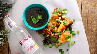 Citrus Asian Chicken Wings Appetizer