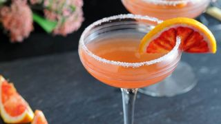 Blood Orange Sidecar - A Blood Orange and Brandy Cocktail