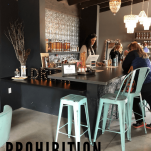 Interior of Prohibition Spirits in Sonoma