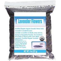CCnatrue French Lavender Flowers USDA Organic Dried Culinary Lavender 8oz