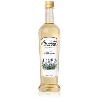 Amoretti Premium Syrup, Violet Lavender, 25.4 Ounce