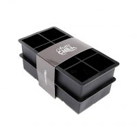 Arctic Chill - Silicone 2'' Ice Cube Tray, Set of Two - Makes Perfect Large Whiskey Ice Cubes