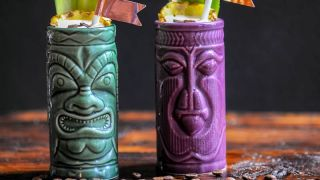 The Cargo Cult - A Banana Coffee and Mezcal Cocktail