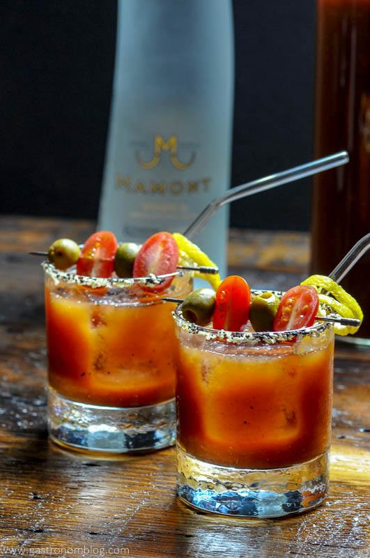 National Bloody Mary Day with Mamont Vodka
