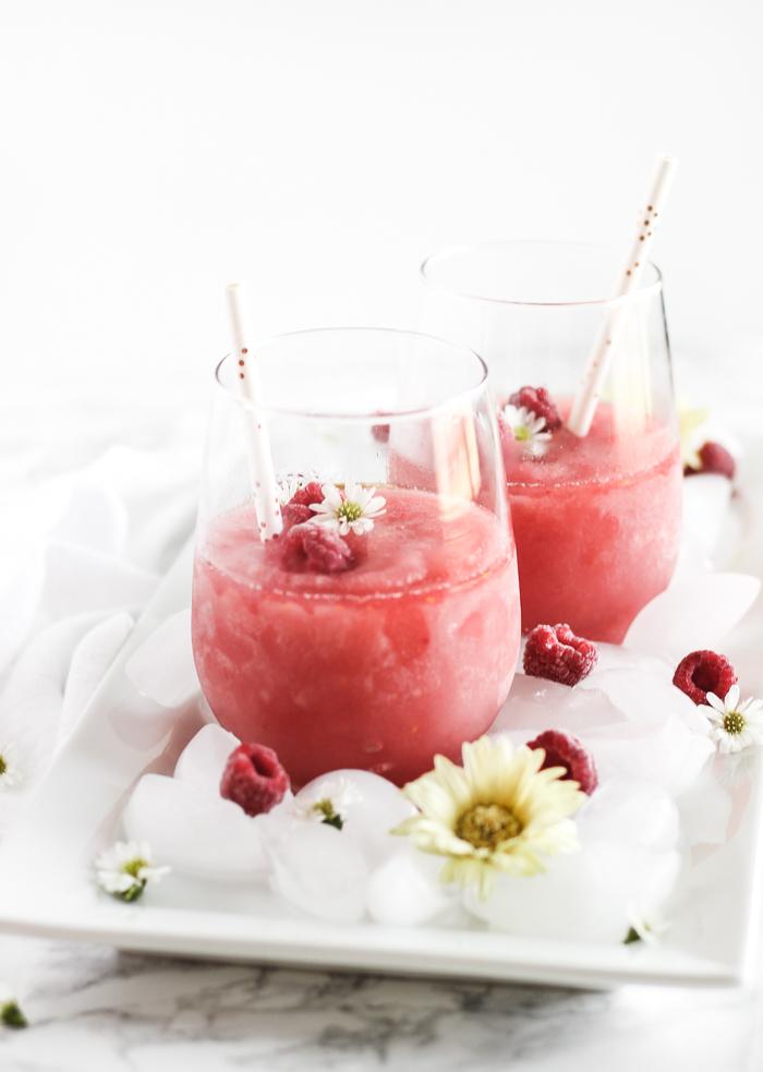 Raspberry Frozé