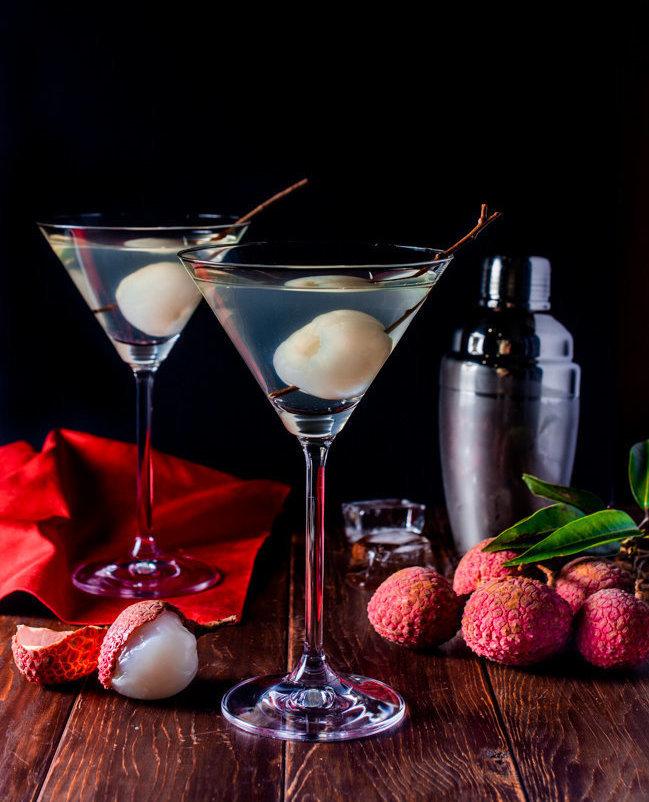 Lychee Martini - Wok & Skillet