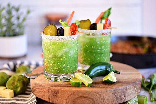 Green Bloody Mary aka Verde Mary
