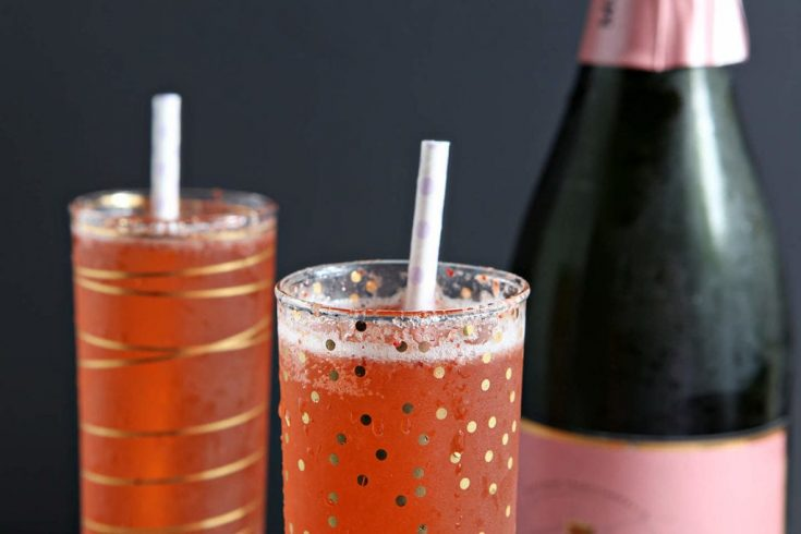 Easter Strawberry Champagne