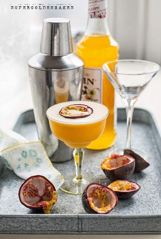 Passionfruit Martini Cocktail