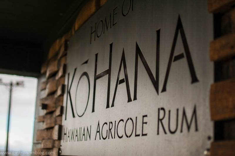 Kohana Distillery sign