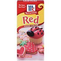McCormick Red Food Color, 0.25 Fl. Oz (4 Count)