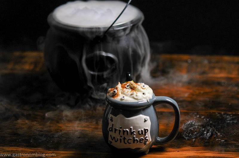 Witch Cauldron Halloween Cocktail