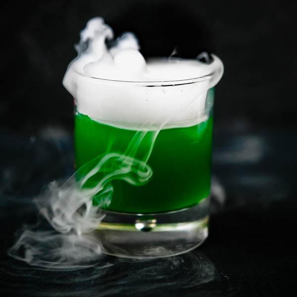 Swamp Gasses - A Green Halloween Punch