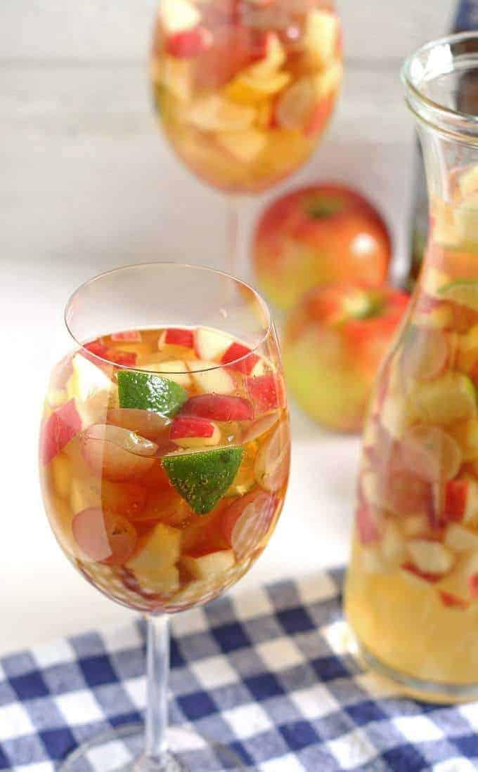 White Wine Apple Cider Sangria