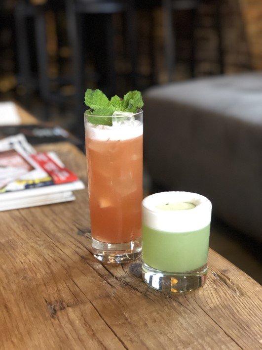 Cocktails at Brazen Open Kitchen in Dubuque